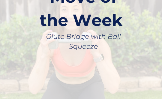 Glute Bridge with Ball Squeeze